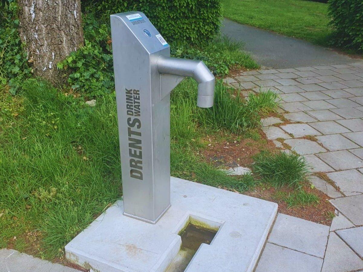 Watertappunt op de hub in Zuidwolde